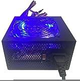 Shark Technology 750 Watt Quiet 120mm Blue LED Fan Black ATX 12V 2.0 PSU with...