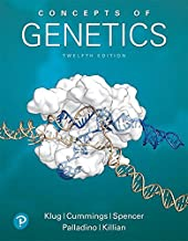 Concepts of Genetics (12th Edition) (Masteringgenetics)