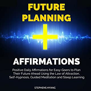Future Planning Affirmations audiobook cover art