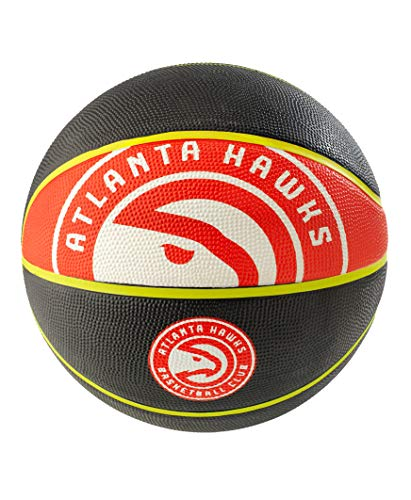 NBA Atlanta Hawks Spaldingteam Logo, Black, 29.5'