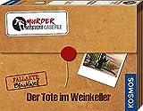 KOSMOS 682163 Murder Mystery Case File - Der Tote im Weinkeller, Krimi-Spiel Set mit Beweismaterial und Hinweisen, löse einen spannenden Kriminalfall, Partyspiel, Gesellschaftsspiel ab 14 Jahre