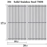 Htanch SG637(2-Pack) Stainless Steel Cooking Grates Grid Replacement for Weber Spirit 200,E-210...