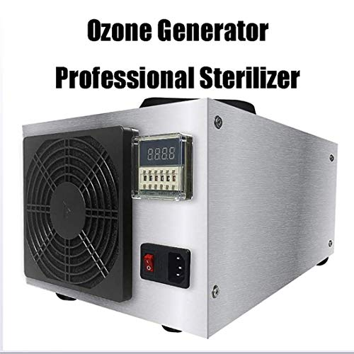 MOKY Ozon-Generator, Profi-Sterilisator, Gewerbe-Reiniger Luftreiniger, Comfort Edelstahl Professioneller Ozonator Deodorizer und Sterilisator - 50g