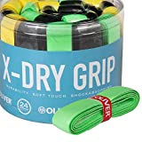 Oliver Basis Griffband X-Dry Squash Badminton Tennis Gelb Yellow New!   Pack of 2