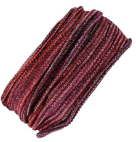 510yC+oR13L - Guru-Shop Magic Hairband, Dread Wrap, Schlauchschal, Stirnband, Herren/Damen, Haarband Rot/weiß, Baumwolle, Size:One Size, Stirnbänder Alternative Bekleidung
