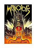 Film Movie Metropolis 1927 SCI FI Future Framed Art Print