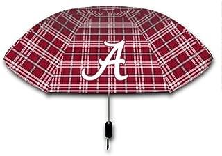 Seven Sons Rainmate Rainwear NCAA Alabama Crimson Tide 42-Inch Official Tartan Folding Umbrella