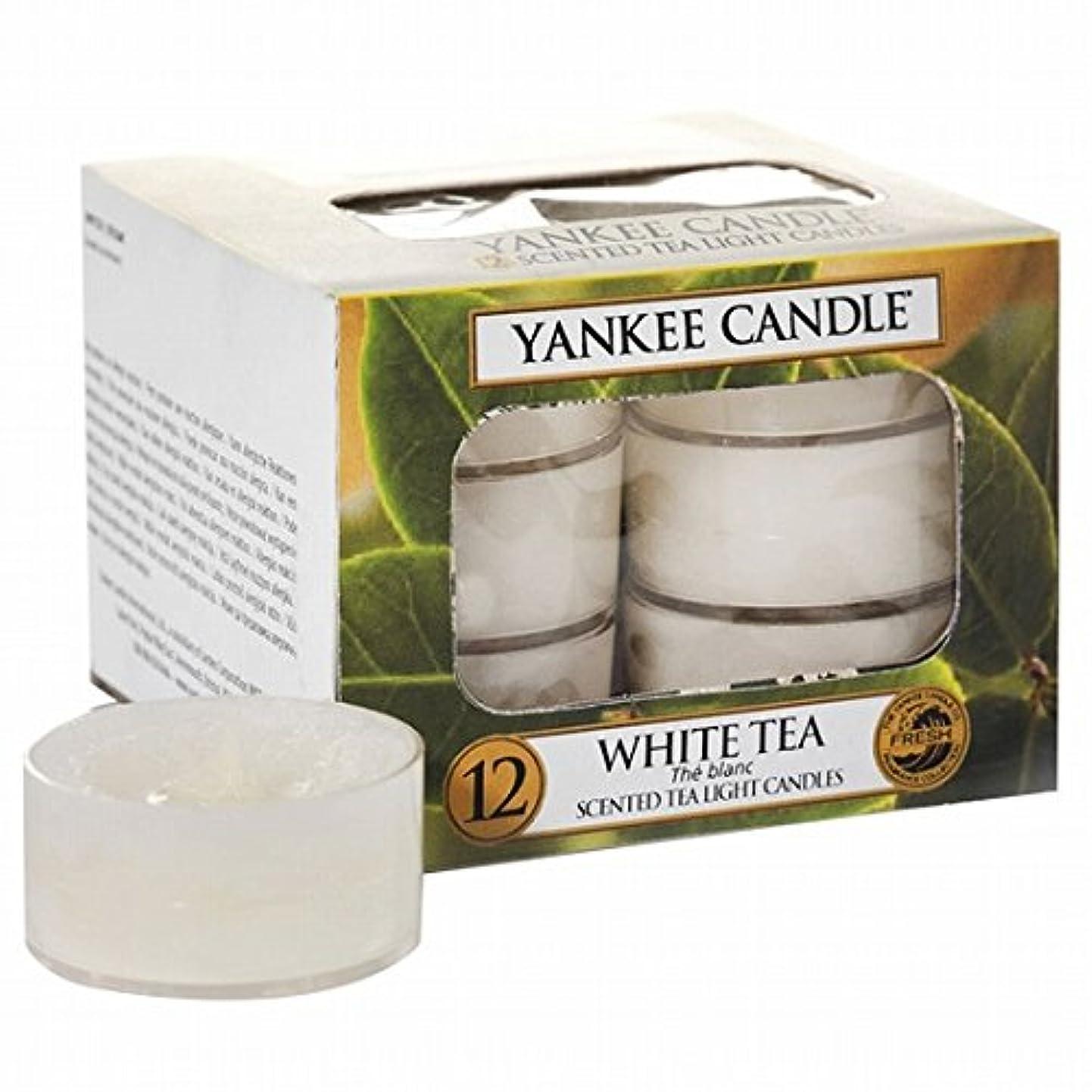 先に連鎖フォーラムヤンキーキャンドル(YANKEE CANDLE) YANKEE CANDLE クリアカップティーライト12個入り 「ホワイトティー」