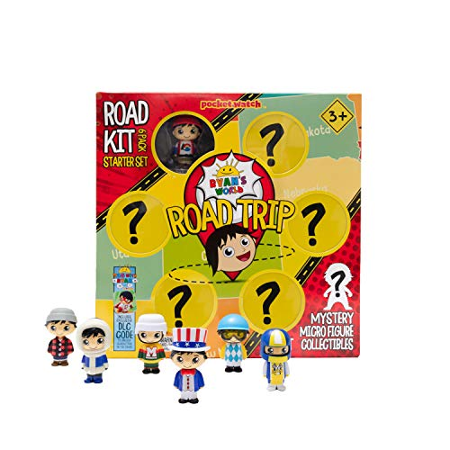 RYAN'S WORLD Road Trip Road Kit Micro Boxed Set