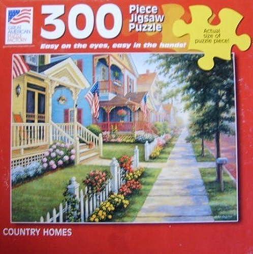 soporte minorista mayorista Country Homes 300 Piece Jigsaqw Jigsaqw Jigsaqw Puzzle  productos creativos
