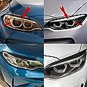 KSUVR Scheinwerfer Augenbrauenaufkleber Autozubehör, für BMW F87 M2 F22 F23 220i 228i M235i M Sport Coupé 2 Türer 14-18