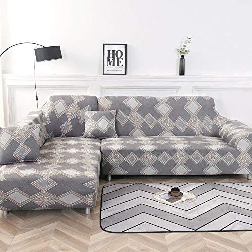 Allenger Funda de Sofá,Funda de sofá elástica Antideslizante, Funda de cojín de sofá Universal para Todas Las Estaciones, Funda a Prueba de Polvo para Muebles sofá-Color 13_145-185cm
