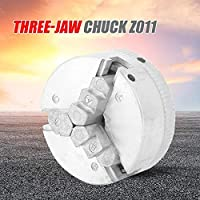 Z011 Collet Zinc Alloy 3-Jaw Lathe Chuck Clamps Wood Turning Lathe Tool