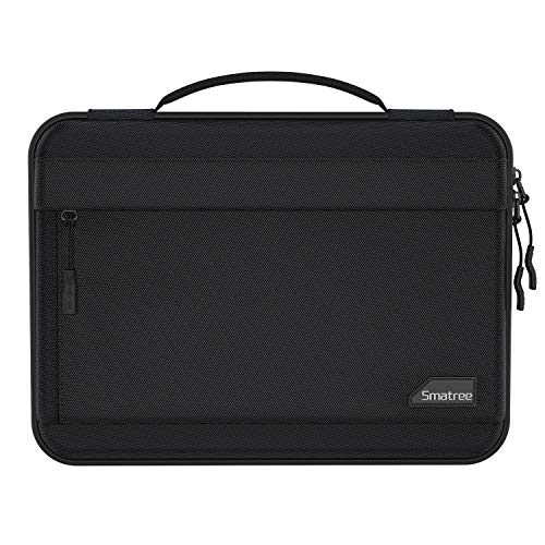 Smatree 14 Inch Laptop Carry Case Hard Shell, Compatible with 13.3' MacBook Pro 2016-2020/MacBook Air 2020/13.5' Surface Laptop/14 in Lenovo ThinkPad, with Accessory Storage - Black