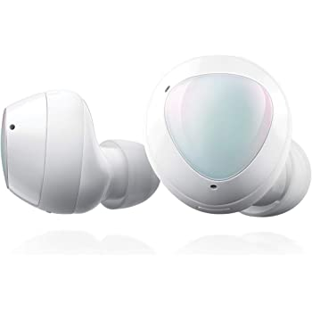 Samsung Galaxy Buds+ Plus, True Wireless Earbuds (Wireless Charging Case included), White – US Version