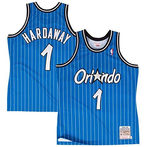 Penny Hardaway Orlando Magic Blue Youth NBA Hardwood Classics Jersey (Small 8)