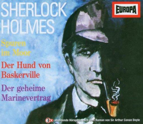 Sherlock Holmes Box 01. 3 CDs: Der Hund von Baskerville / Spuren im Moor / Im Dienste Ihrer Majestät