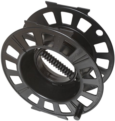 Woods 82870 Snap-Together Cord Reel, Holds up to 150-Foot 16/3 AWG, Black