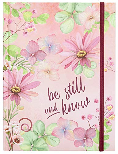 Be Still and Know Journal (Hardcover) – Perfect Faith Book and Prayer Journal for Women, Great Gift for Holidays, Birthdays, and More