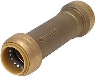 SharkBite U3008LFA Slip Coupling, 1/2-Inch x 1/2-Inch