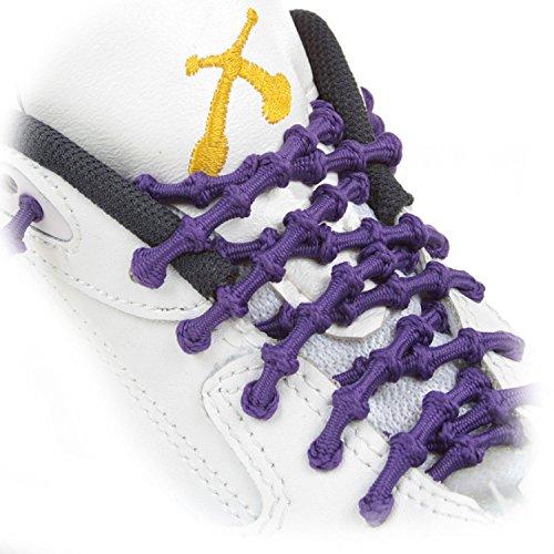 Xtenex Sport-Schnürsenkel, Unisex - Erwachsene, Viola (Violet), 75 cm