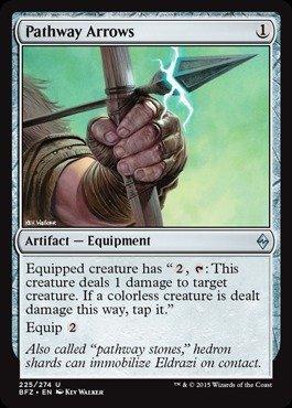 Magic: the Gathering - Pathway Arrows - Frecce del Cammino - Battle for Zendikar