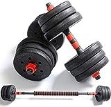 WANGCAI Ajustable de la Pesa de Gimnasia Bíceps Peso Peso Formación de Pesas y Pesas for Ejercicios Montaje Gimnasio Body Entrenamiento con Mancuernas