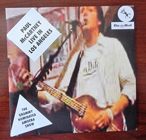 Paul McCartney - Live In Los Angeles CD - Rare Promotional Issue By The Mail On Sunday