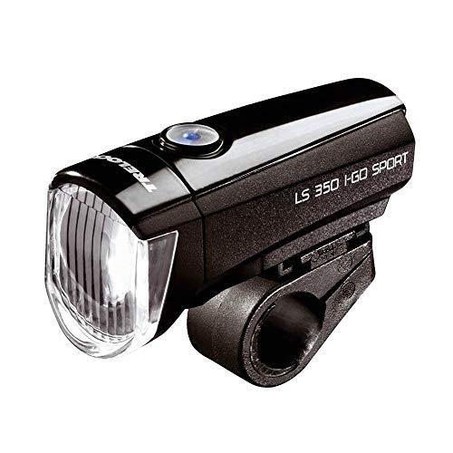 Trelock Unisex– Erwachsene LED-Batterie-Leuchte-2022100800 LED-Batterie-Leuchte, Schwarz, One Size