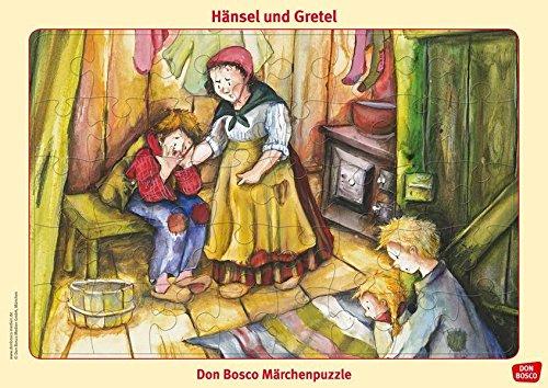 Hänsel und Gretel. Puzzle. Don Bosco Märchenpuzzle (Don Bosco Märchenpuzzle für Familie und Kindergarten)