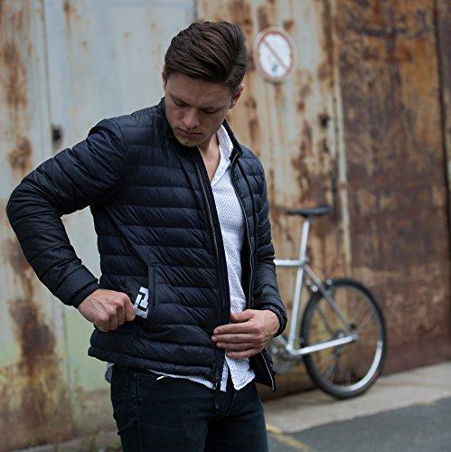 CYCLEHERO Sattelbezug wasserdicht schmales Schwarzer Sattelschutz für das Fahrrad – wasserfester Regenschutz mit Gummizug und Transporttasche für Rennrad, Mountainbike und Trekkingrad (Breit) - 4