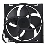 xbox fan replacement - Internal Cooling Fan for Xbox One Game Console, DC 12V Heat Exhauster Fan Cooler Replacement Part Kit(Xbox one x)