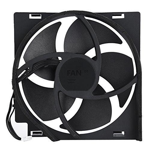 Reemplazo de Las Piezas de reparación del Enfriador del Ventilador de enfriamiento Interno para la Consola Xbox One, un Potente Ventilador del Enfriador con Fuerza de Viento (para Xbox One x)