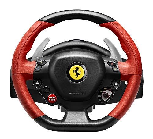 Thrustmaster FERRARI 458 SPIDER - Volante - Xbox One - Replica Ferrari 458 Spider - Licencia Oficial Ferrari y Xbox