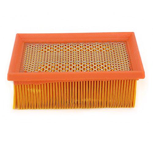 Luftfilter Filterkartusche Ansaugreiniger für B.M.W F800GS 07-16 / F800GS Adventure 15-16 / F800ST 06-13 / F800R 10-16 / F800S 06-10 / F800GT 13-16 / F650GS 08-12 / F700GS 13-16 Street Bike gelb