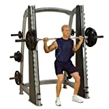 Body-Solid SCB1000 Pro Clubline Counter-Balanced Smith Machine for Weight Training, Home and...