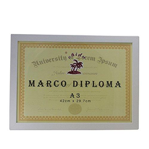 Chidu Marco Blanco para Diploma A3 de 29