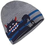 Odlo Kinder Hat Kids MID GAGE Reversible Mütze, Diving Navy-Grey Melange-Stripes