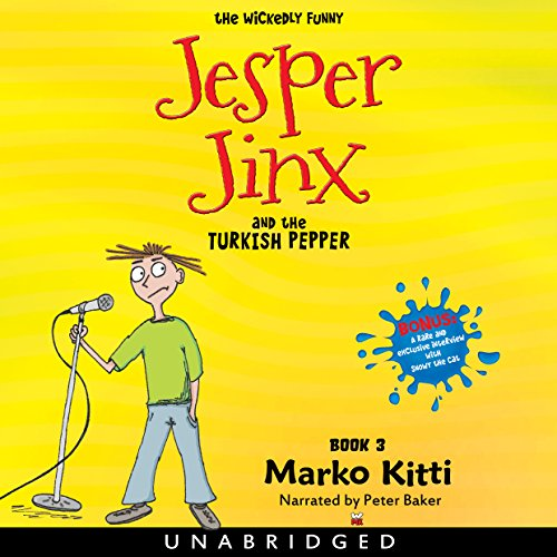 Jesper Jinx and the Turkish Pepper, Book 3 Titelbild