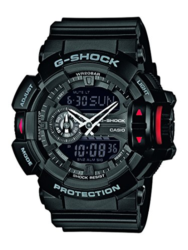 G-Shock Herren-Armbanduhr XL G-Shock Analog - Digital Quarz Resin GA-400-1BER