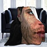 JONINOT Manta De La Siesta Felpa Sofás Franela Super-Dean-Winchester Buen sueño L127cm x W102cm