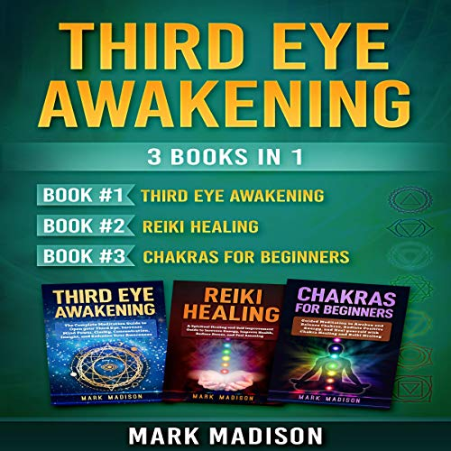 Third Eye Awakening: 3 Books in 1 audiobook cover art