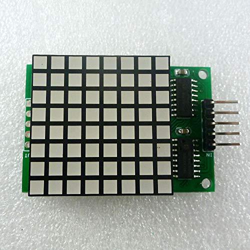 DM11A88 8x8 Square Matrix Rote LED-Anzeige Punktmodul 74hc595 Laufwerk für Arduino UNO PRO MEGA2560 DUE Himbeer-Pi