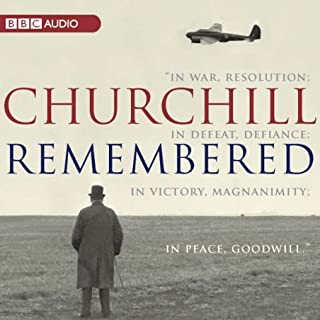 Churchill Remembered audiobook cover art