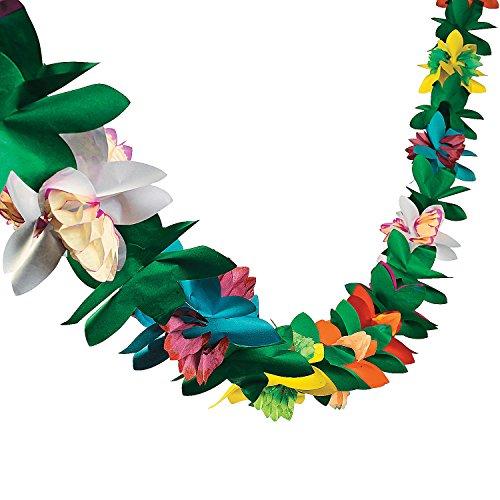 Fun Express Tissue Flower Garland
