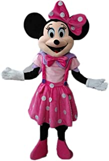 Adult Size Lovely Pink Minnie Mouse Mascot Costume Disney Mascots Cartoon Mascot Costumes