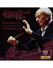 ギュンター・ヴァント 不滅の名盤 [2] / ベルリン・ドイツ交響楽団編 ~ シューベルト: 交響曲第8(9)番「ザ・グレート」 | ストラヴィンスキー: バレエ組曲「火の鳥」 | チャイコフスキー: 交響曲第5番 (Schubert: Sinfonie Nr.8 | Stravinsky: L'oiseau de feu | Tchaikovsky: Sinfonie Nr.5 / Gunter Wand | Deutsches Symphonie-Orchester Berlin) [2SACD Hybrid] [Live Recording] [国内プレス] [日本語帯・解説付]