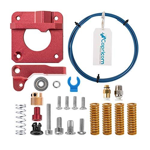 Creality Upgraded 3D Printer Accessories with Capricorn PTFE Tubing and Metal MK8 Bowden Extruder and 4 pcs Heated Bed Leveling Die Springs for Ender 3/3 Pro, Ender 5/5 Plus/Pro, CR-10, CR-10S/10S Pro