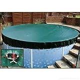 4,6m piscine hors sol d'hiver la saleté Coque piscine Winter Coque de qualité supérieure avec système de cliquet