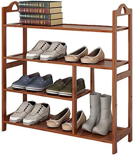 FGVBC Botas de Porche Zapatero Estante Plano de bambú Varias Capas Gabinete de Almacenamiento de Madera Organizador de Muebles 66 * 25 * 73cm Artículos para el hogar